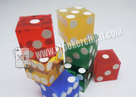 Acrylic Customizable Sharp Magic Trick Dice Gambling Games Regular