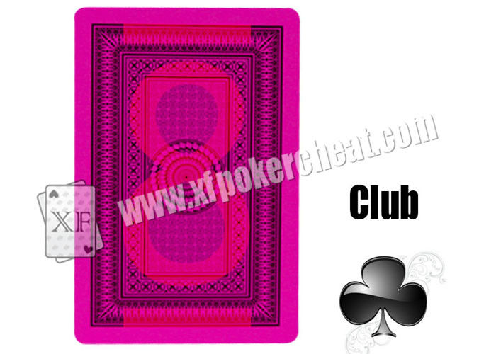 Casino Playing Cards Bridge 575 Paper Invisible Marked Cards For Contact Lenses Poker Cheat