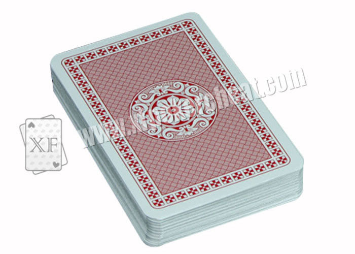 Casino Games Paper Red Narrow Index Piatnik Playing Cards Double Deck