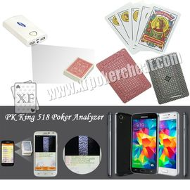 Chine Royal Marked Poker Cards, Cheating Playing Cards for Infrared Camera Poker Analyzer usine